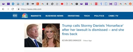 Trump-Stormy News